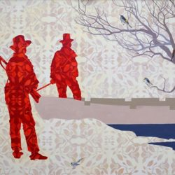 Christopher Pease, Welcome To Country, 2011, Oil On Linen, 152x220cm
