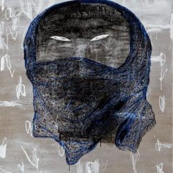 Dadang Christanto, Batik Veil I, 2010, Oil On Linen, 136x110cm