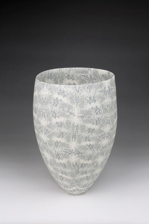 David Pottinger, Coloured Nerikomi Porcelain Vessel