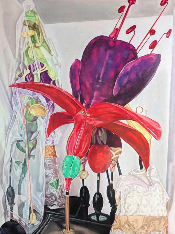 Herbarium still life (Fuschia) #8