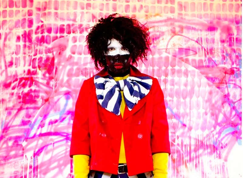 Eric Bridgeman, The Black Clown (detail), 2012, 123x90cm