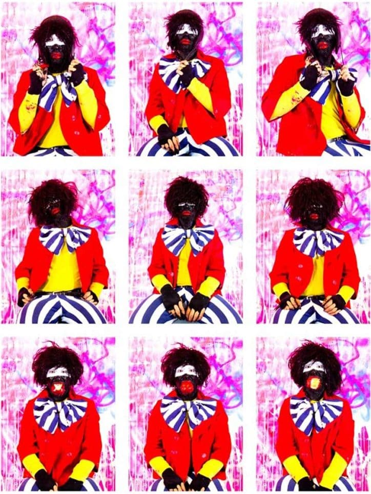 Eric Bridgeman, Bravo Pour Le Black Clown, 2012, digital print, 256x198cm