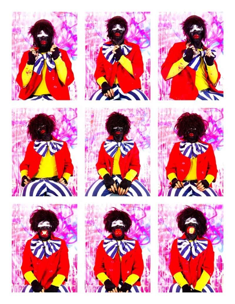 Eric Bridgeman, Bravo Pour Le Black Clown, 2012, Digital Print, 256x198cm