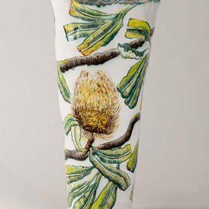 Fiona Hiscock, Banksia Vase With Honeyeater, 2017, Stoneware, 41cm High, View 2