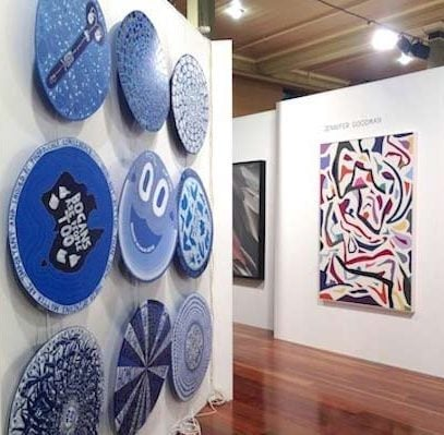 Gallerysmith At Melbourne Art Fair, 2014.
