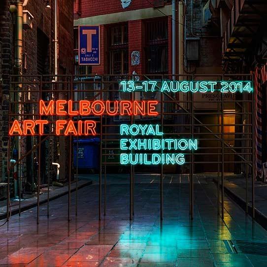Gallerysmith at Melbourne Art Fair, 2014.