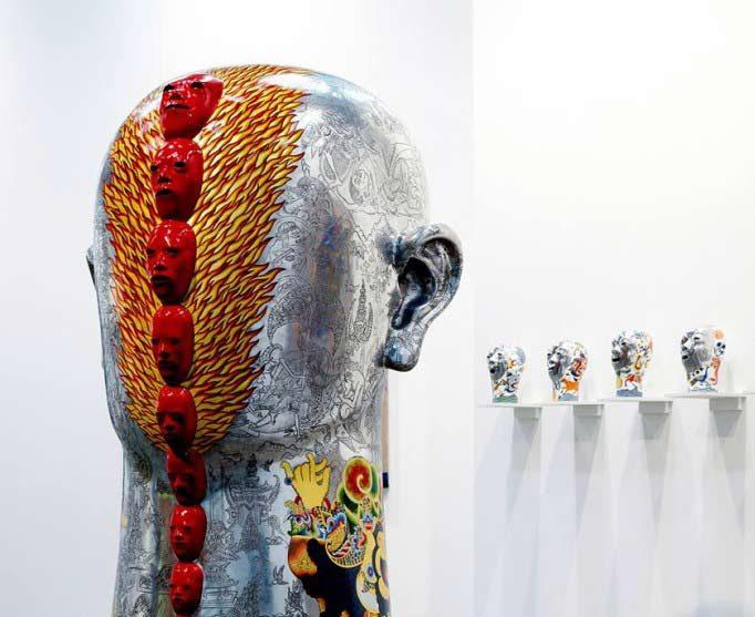 Gallerysmith at Sydney Contemporary, 2013.