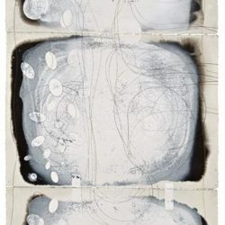 Ian Friend, Hope II (for H.L.K.F), Indian Ink, Gouache And Crayon On Paper, 2000-2014, 168x76cm