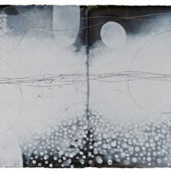 Ian Friend, Treatise (for Cornelius Cardew), Indian Ink, Gouache And Crayon On Paper, 2000-2014, 56x152cm