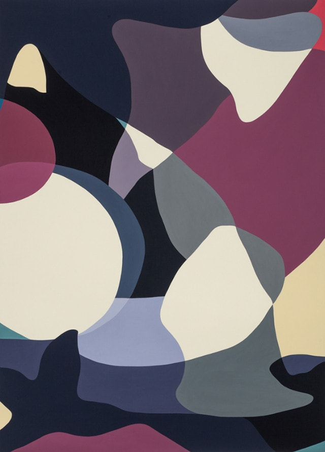 Jennifer Goodman, Delphic 1, 2014, oil on linen, 180x130cm