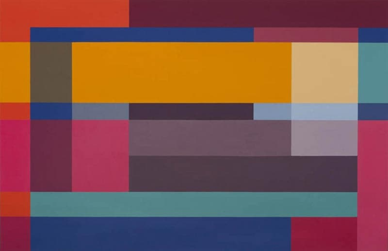 Jennifer Goodman, Gamboge, 2009, oil on linen, 130x200cm