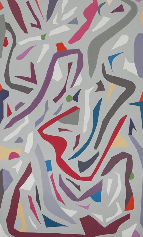 Jennifer Goodman, Zeal, oil on linen, 200x120cm