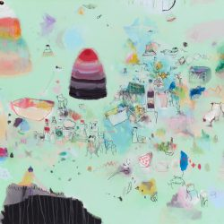 Junko Go, Some People Perversely Like To Eat Raw Cake Mixture…, 101x168cm