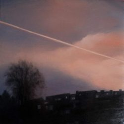 Kirrily Hammond, Kessel-Lo, Leuven, 2015, Oil On Linen, 30x30cm