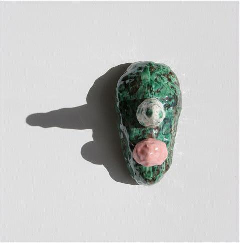 Lynda Draper, Chris, 2014, 2013, Earthenware And Glaze, 19x11x18cm