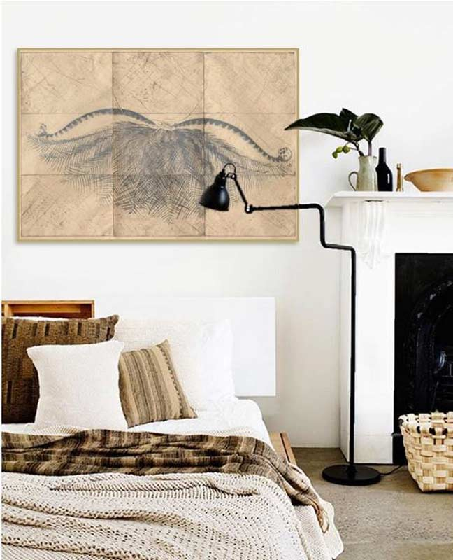 Martin King, 'this Mess We're In', Etching, In A Bedroom In Elwood, Victoria.