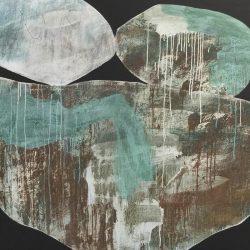 Ngaio Lenz, Mixed Media On Canvas