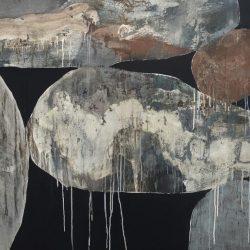 Ngaio Lenz, #102, Mixed Media On Canvas, 122x152cm