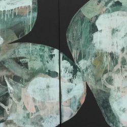 Ngaio Lenz, #65 Mixed Media On Canvas