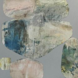 Ngaio Lenz, #66 Mixed Media On Canvas