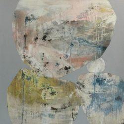 Ngaio Lenz, #67 Mixed Media On Canvas