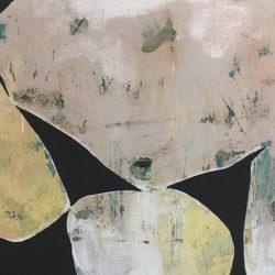 Ngaio Lenz, #71 Mixed Media On Canvas, 101x152cm