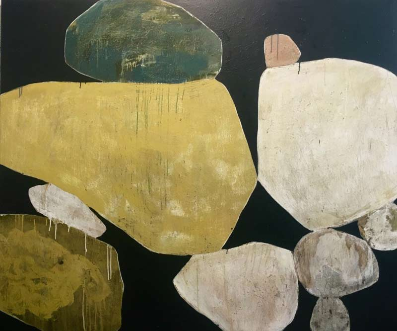 Ngaio Lenz, artwork from An Imperfect Balance, 152x182cm