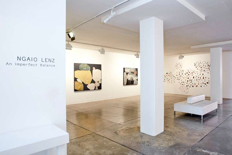 Ngaio Lenz, An Imperfect Balance at Gallerysmith installation view.