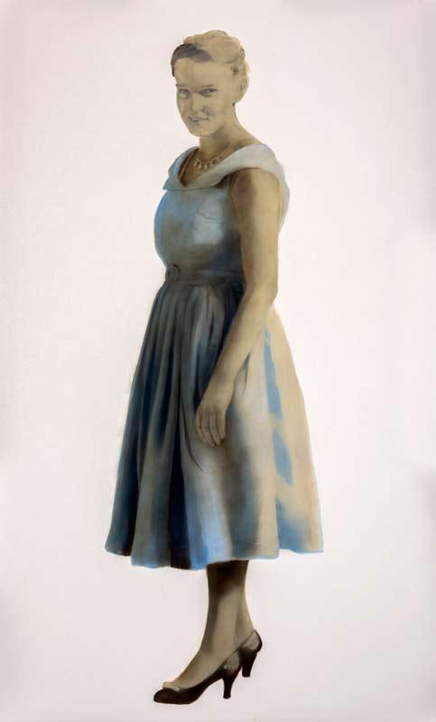Rachel Coad, Grace, 2015, Oil On Linen, 230x140cm