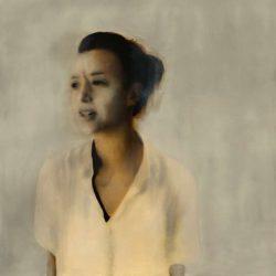 Shred, 2014, Oil On Linen, 135x135cm