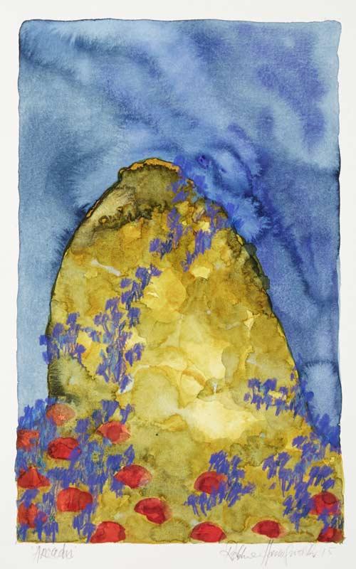Robbie Harmsworth, Arcadia iii, 48x30cm (image), 100x8cm (framed)