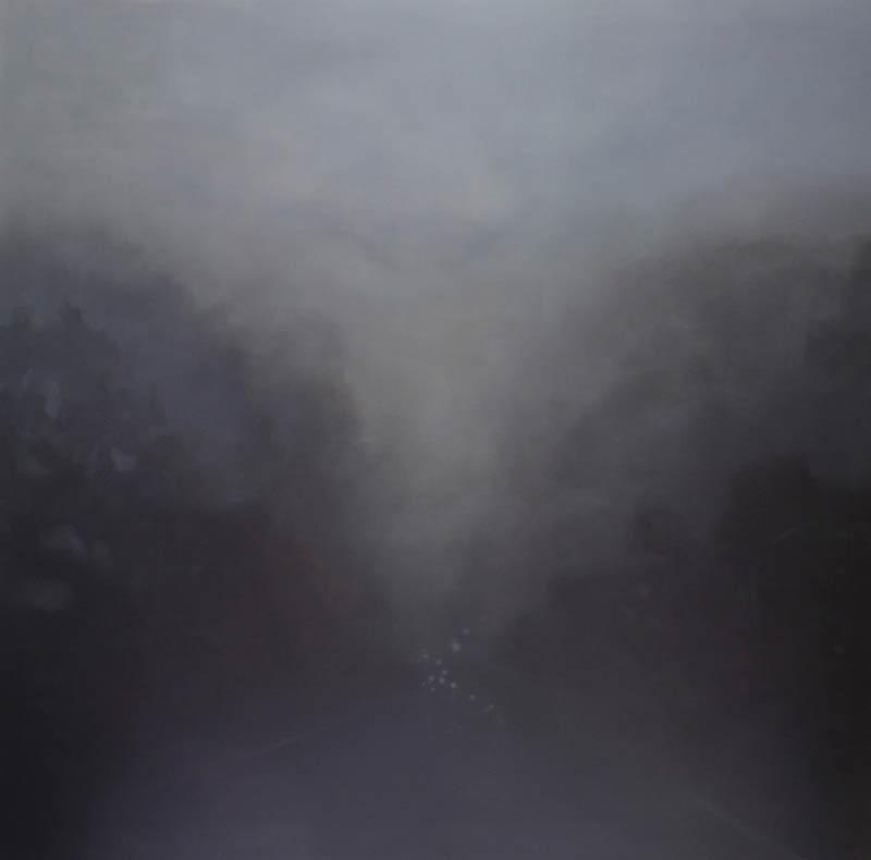 Adriane Strampp, Cutting, 152x152cm
