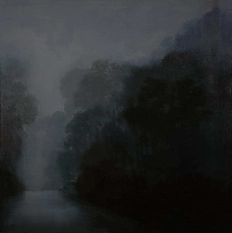 Adriane Strampp, Echo, 152x152cm
