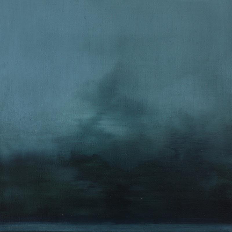 Adriane Strampp, First light, 41x41cm