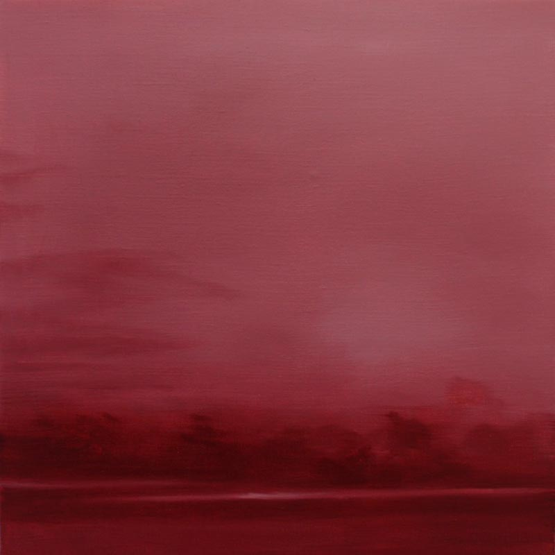 Adriane Strampp, Fugitive, Oil On Linen, 41x41cm