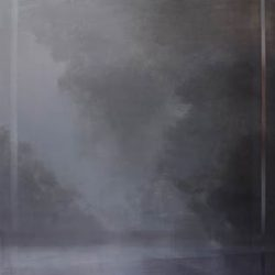 Adriane Strampp, Void, Oil And Wax On Linen, 152x152cm