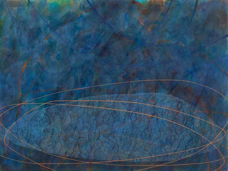 Sue Lovegrove, No. 545, 2015, acrylic and gouache on linen, 45x60cm